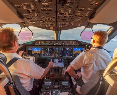 Unternehmer, Pilot, Kooperation